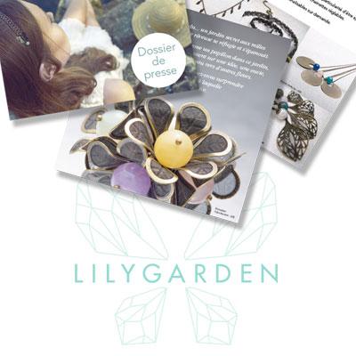 Création de logo et communication de Lily Garden