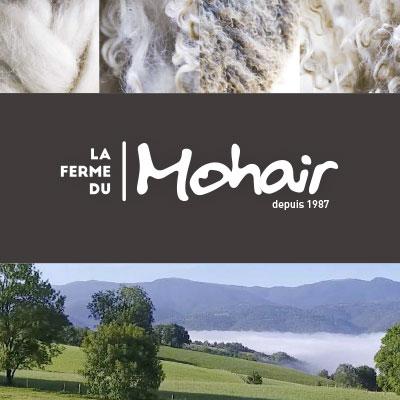 Plaquette salon de la Ferme du Mohair